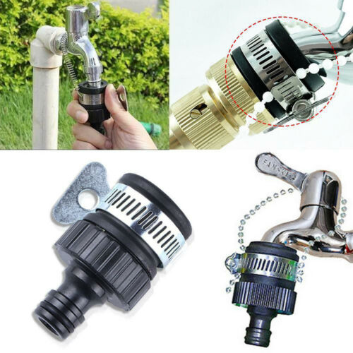 Universal Faucet Adapter Water Tap Connector Mixer For Garden Kitchen Hose Tap