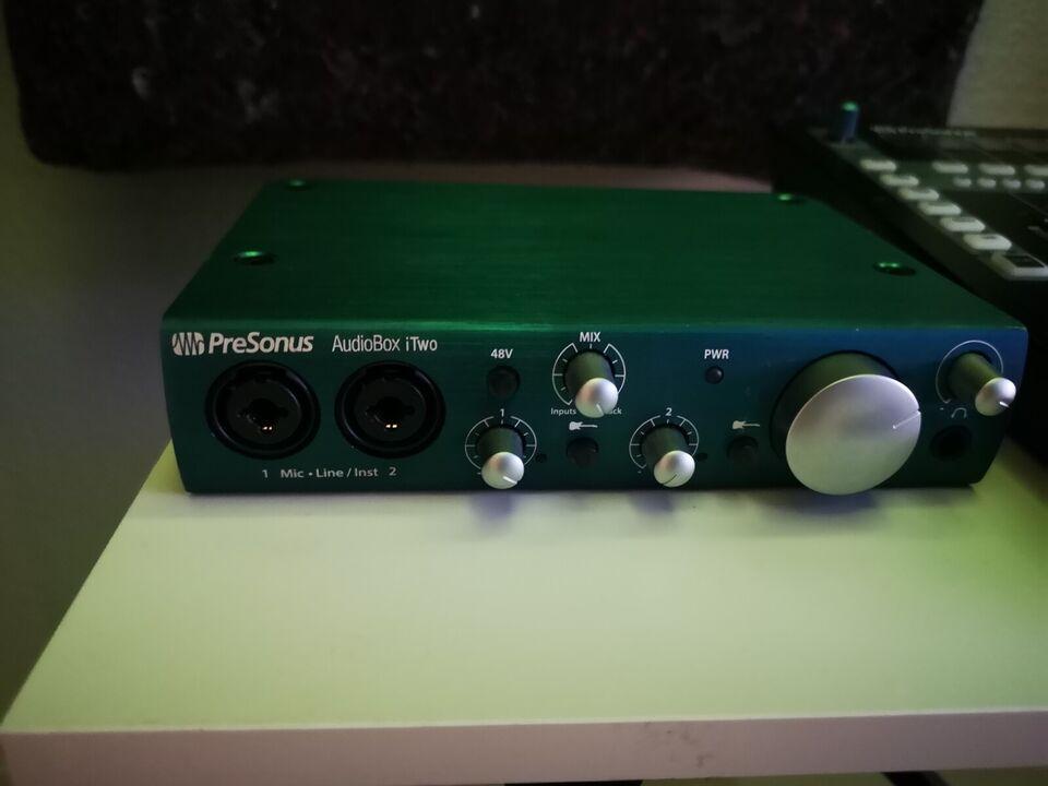 Audiobox iTwo, Presonus iTwo