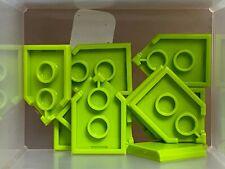 Flat silver modified 2x3 pentagonal 35341 35339 NEW Lego 22385-2x Tile