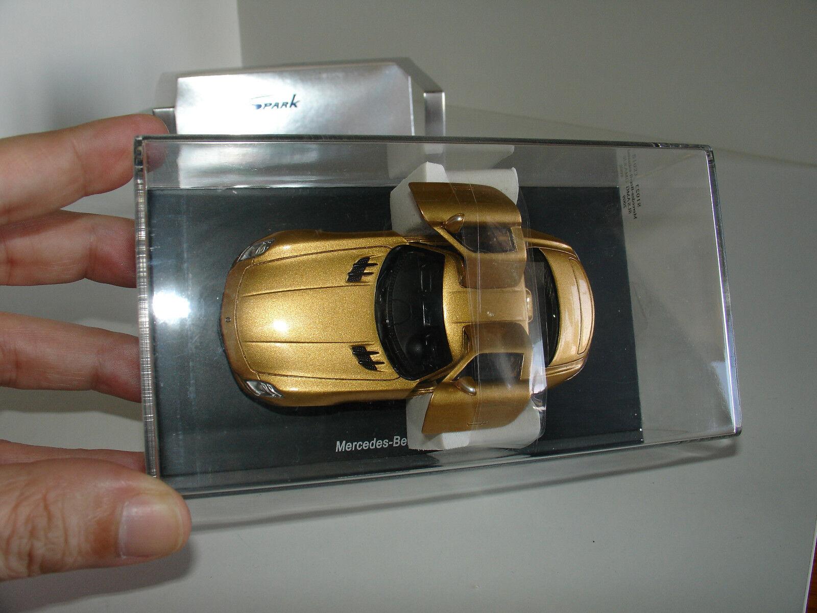 1 43 MERCEDES-BENZ SLS AMG 2009 oro by SPARK