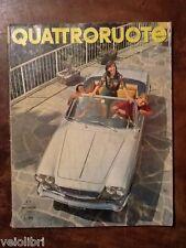 Quattroruote 105 settembre 1964 - BMW 1800, Simca, 1500, Renault Dauphine