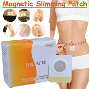 50PCS-Magnetic-Abdominal-Body-Slimming-Patch-Slim-Navel-Sticker-Fat-Burnining