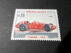 Monaco-1967-Stamp-712-Automobile-Car-Ferrari-Grand-Prize-New-MNH