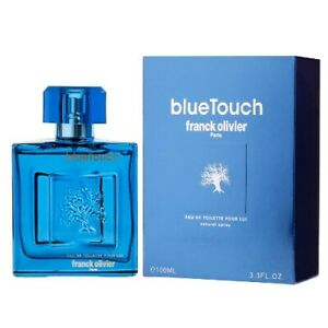 Blue Touch by Franck Olivier 3.3 oz EDT Cologne for Men New In Box