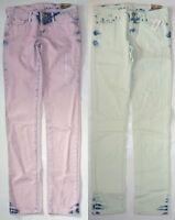 Womens Aeropostale Bayla Tinted Light Wash Skinny Jeans 0519
