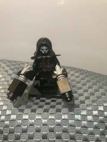 New Custom Minifigure Overwatch Villain Reaper ARRIVES IN 2-4 DAYS