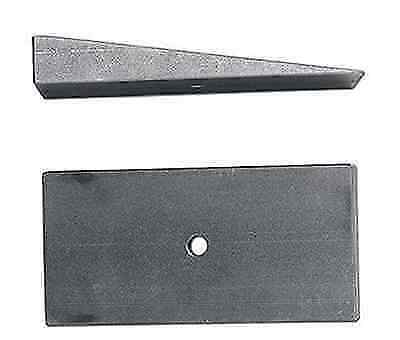 Rubicon Express RE1467 Universal Degree Shim 2.5 in Wide X 4 Degree Steel// Pair