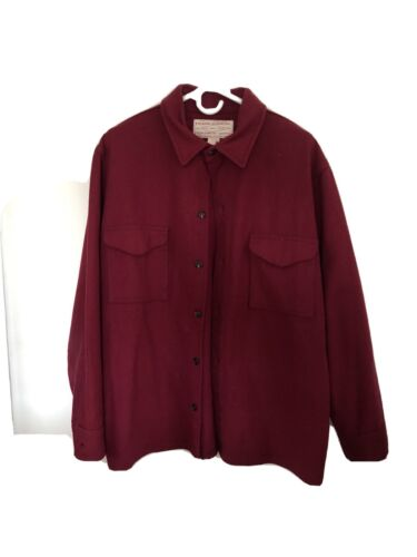 Filson Shirt/Jacket Mackinaw Marron
