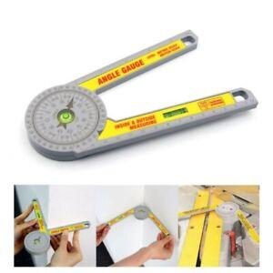 Miter Saw Protractor Laser Angle Finder Square Level Blade Jig Hammer Carpenter