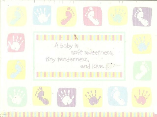 unisex new baby announcement cards birth pink blue green purple yellow 20 count - Baby Announcement Cards