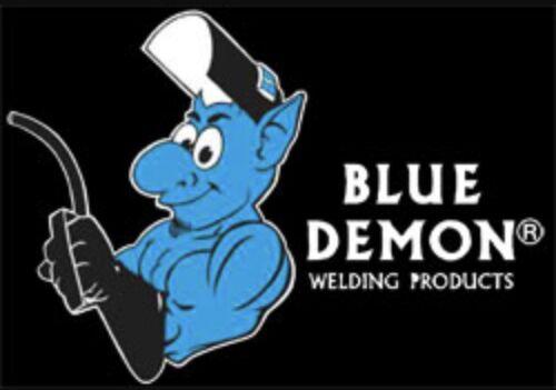 E71T-GS .045 Flux Core MIG Welding Wire 33 Lb Spool Blue Demon