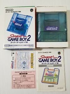 Nintendo Super Famicom Super Gameboy 2 Boxed + Manual Japan 0609A42