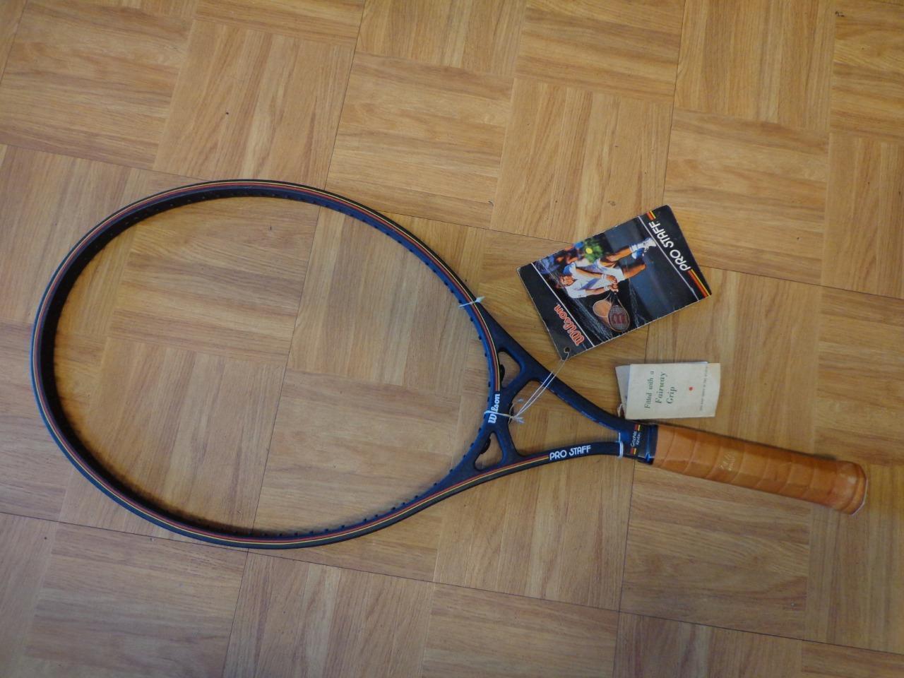 NEW Vintage Wilson Pro Pro Pro Staff Original 125 head 4 1/2 ST. VINCENT Tennis Racquet 28709a