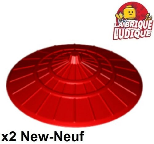 Lego 2x Minifig hat Conical Asian chapeau chinois conique rouge//red 93059 NEUF