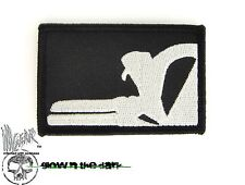 ill Gear sIdEwAyS PUNISHER Skull Patch Tactical Black Morale GID Half