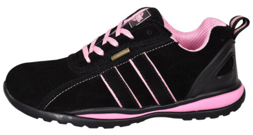 Northwest Womens Ultra Lightweight Steel Toe Cap Work Safety Shoes Trainers Boot