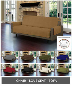 Image Is Loading Quilted Microfiber Pet Dog Couch Sofa Furniture Protector