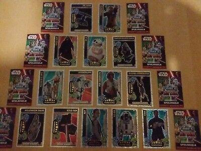 Star Wars Trading Cards Movie Serie 4 LE Karten aussuchen...nagelneu...