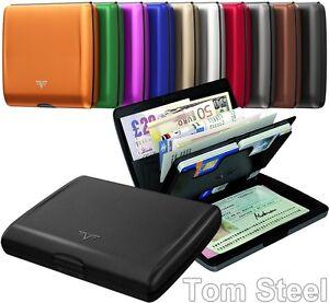 TRU-VIRTU-Aluminium-Boerse-Brieftasche-Wallet-RFID-NFC-Geldboerse-Etui-Case-Neu
