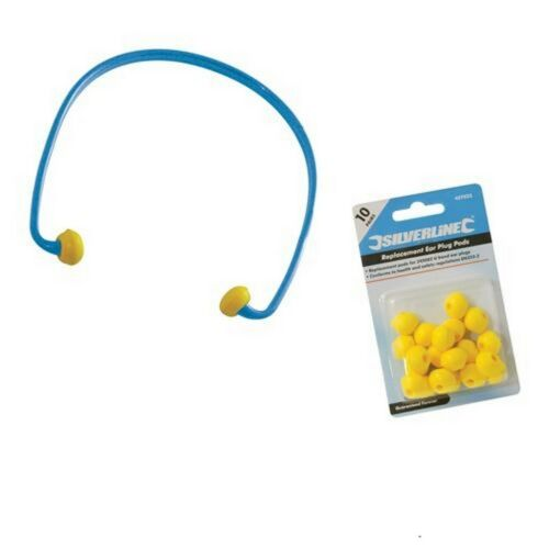 10 Pairs Pods Ear Plugs UBand SNR 21dB safety ear protection workwear earpiece