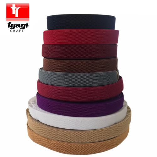 25MM HONEYCOMB ELASTIC TAPE STRETCH THERAPEUTIC BELTS STRAPS BUNTING SEWING