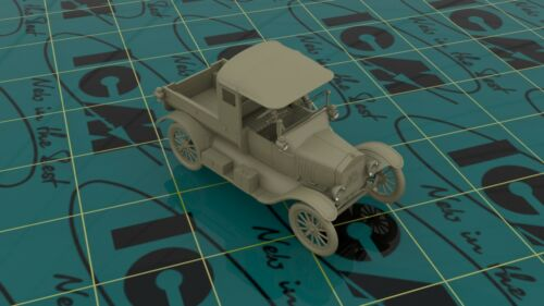 Plastic Kit 1//35 ICM 35664 WWI Australian Army Car Ford Model T 1917 Utility