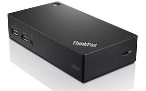 Lenovo-ThinkPad-USB-3-0-Ultra-Dock-Filaire-USB-3-0-3-1-Gen-1-type-Noir