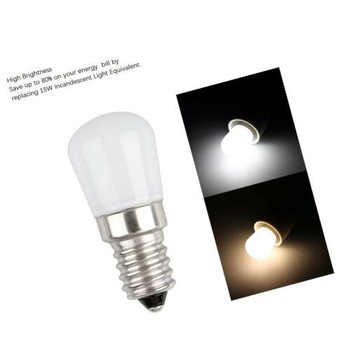 LXcom Ceramic E12 LED Refrigerator Bulb 2W Night Light Bulbs 15W Equivalent D...