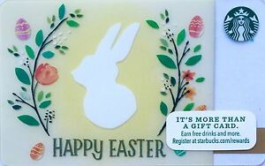 Starbucks new 2016 easter gift card in hand ready to ship ebay image is loading starbucks new 2016 034 easter gift card 034 negle Gallery