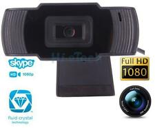 USB 12MP 1080P HD Pro Webcam Camera Video Built-in Mic for Desktop PC Call Skype