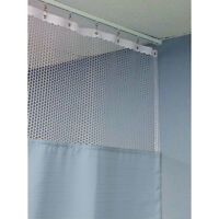 84h Patient Privacy Curtains 84w With 36 X 36 L Track 1 Ea