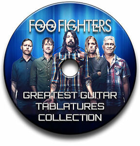 118x-FOO-FIGHTERS-HEAVY-ROCK-GUITAR-TAB-TABLATURE-SONG-BOOK-TUITION-SOFTWARE-CD
