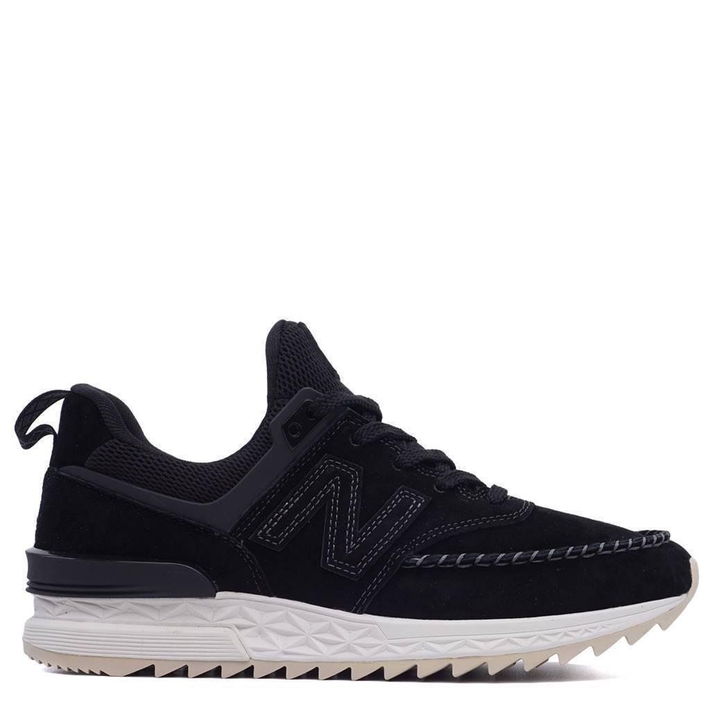 New Balance 574 Sport Black Sea Salt Men Lifestyle Sneakers Athletic MS574NAK