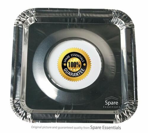 45PACK Aluminum Foil Square Stove Burner Covers Range Protectors Bib Liners Disp