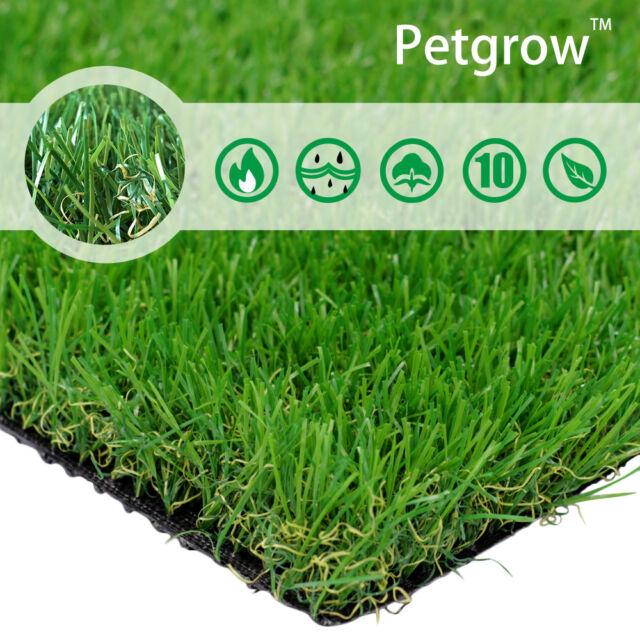 Lita Premium Artificial Grass 3 X 5 15 Square Realistic Fake Grass Deluxe For Sale Online Ebay