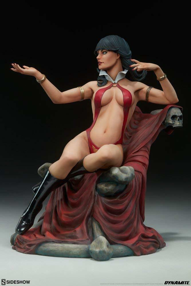 Vampirella Sexy Statue by Terry Dodson Sideshow Collectibles Dynamite Limited