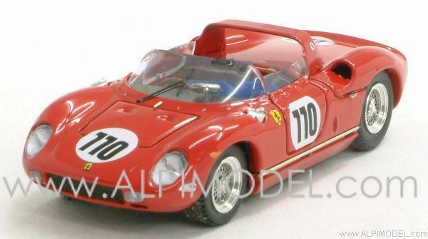 Ferrari 250 P Nurburgring 1963 Surtees - Maires 1 43 Art 126