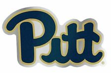NCAA Pittsburgh Panthers Chrome Automobile Emblem