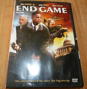 DVD-Movie-Cuba-Gooding-Jr-End-Game-Enjeu-Final