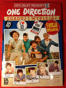 ONE DIRECTION 1D - 58 STICKERS INSIDE - OFFICIAL PRODUCT - Gdynia, Polska - ONE DIRECTION 1D - 58 STICKERS INSIDE - OFFICIAL PRODUCT - Gdynia, Polska