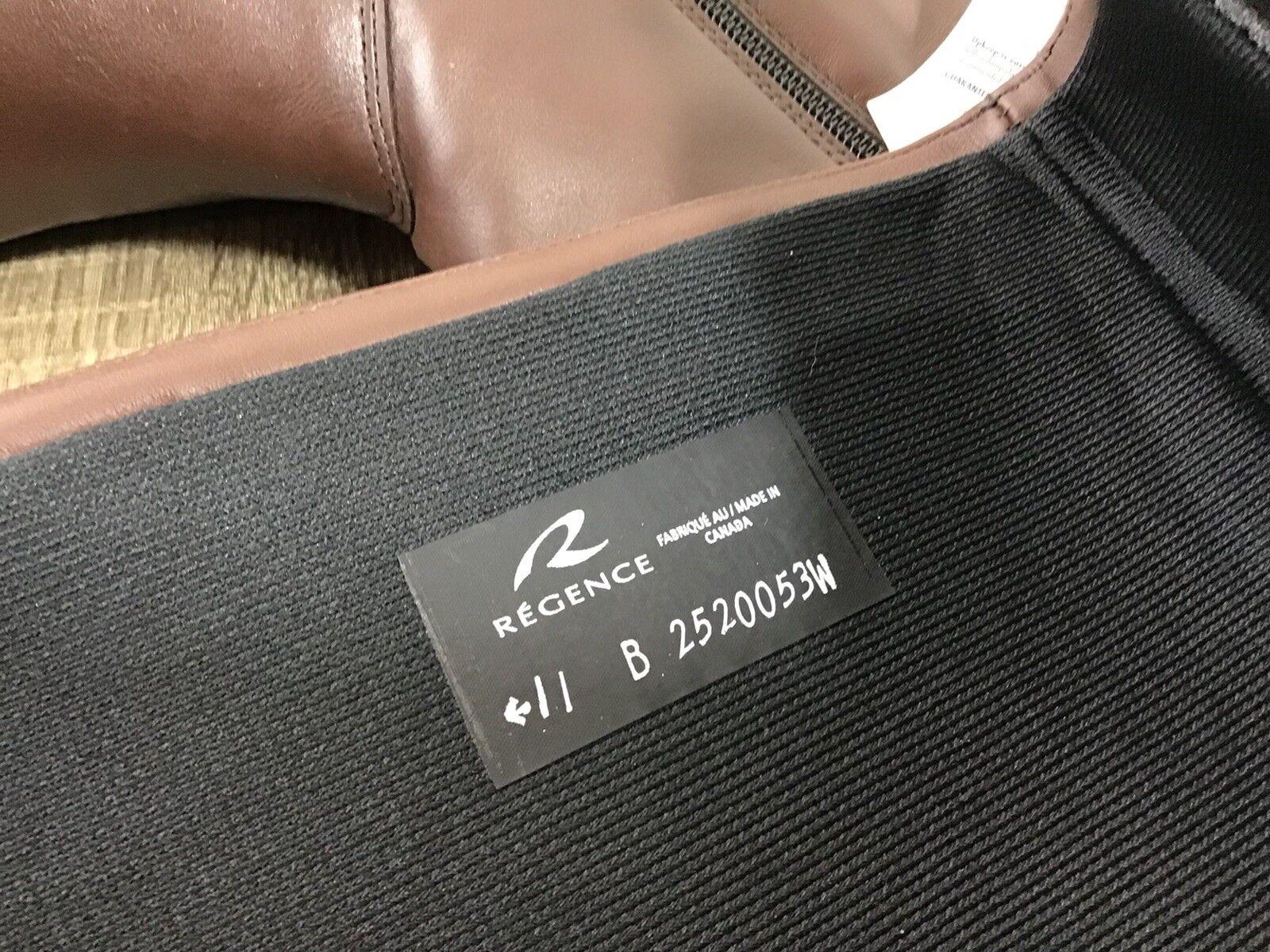 Regence Braun Waterproof High Leder Stiefel Niedrig Knee High Waterproof NEW Größe 11 Lined 4b9872