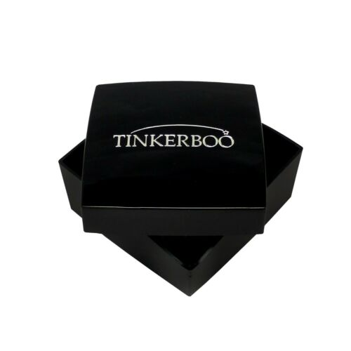 TinkerBoo™ Sterling 925 Silver and Cubic Zirconia Adjustable Spiral Ring