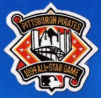 1994 ALL-STAR GAME AT PITTSBURGH PIRATES OFFICIAL MLB JERSEY PATCH