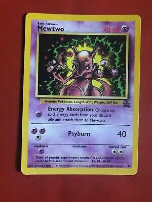 Pokemon Mewtwo XY101 Holo Rare Black Star Promo Near Mint
