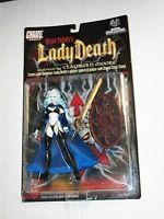 Moore Collectibles Chaos Brian Pulido Lady Death & Evil Ernie Figures Mosc