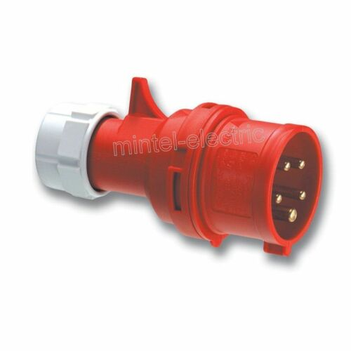 PCE 015-6 CEE spina Shark 400vac 50//60 Hz 16a 3p+n+e ip44