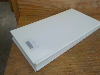 "Seaboard High Density Polyethylene Sheet 12/"" Length x 3 Matte Finish 1/"" Thick"