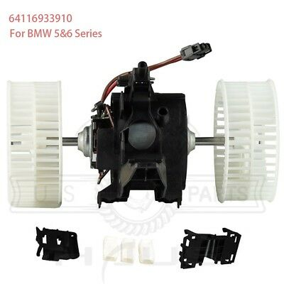 New AC A//C Blower Motor Fits BMW E60 E61 E63 E64 535i 545i 550i 64116933910