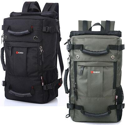 Waterproof Backpack Travel Bag Rucksack Schoolbag Carry On Shoulder Bag Unisex