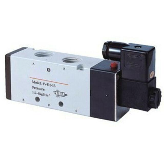 4V41015 AIRTAC NEW 4V410-15 110VAC PLC